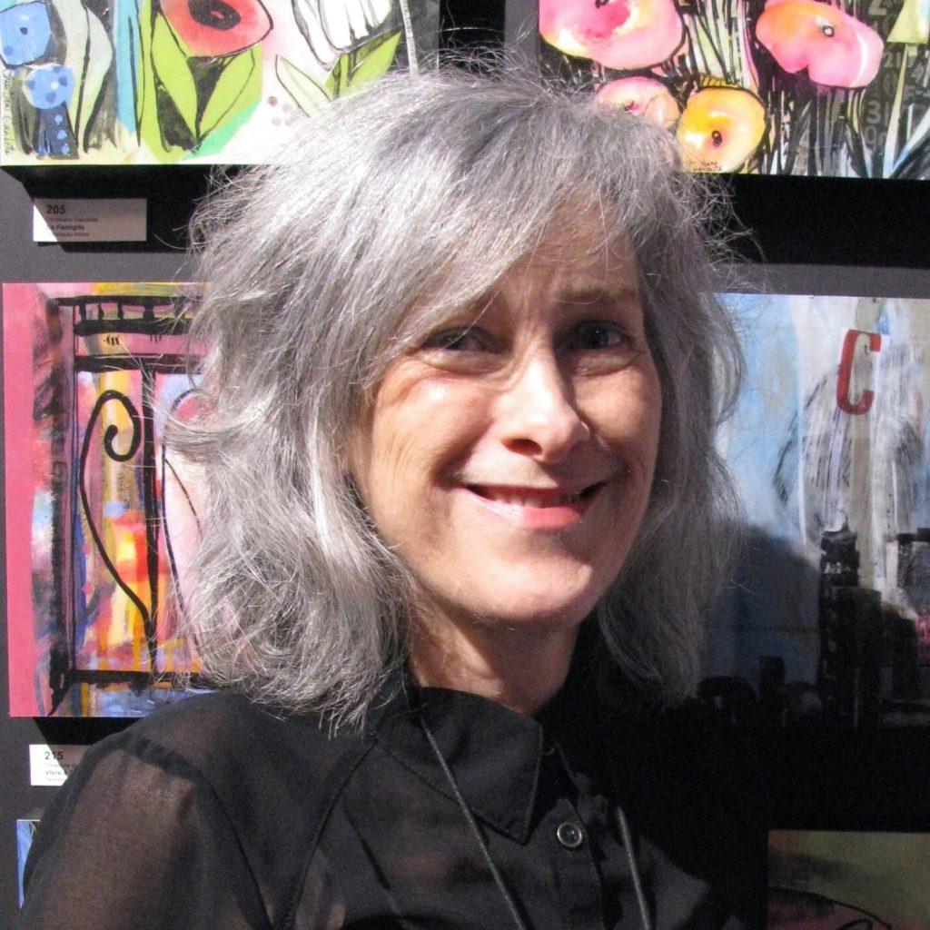 Coop ART[O]   Portrait de l'artiste Christiane Gaudette